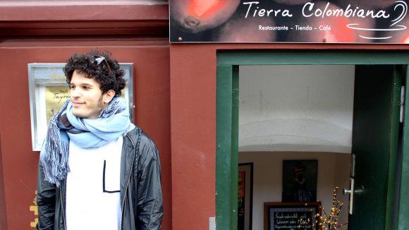 Den südamerikanischen Genuss im Tierra Colombiana kann der Musiker nur empfehlen.