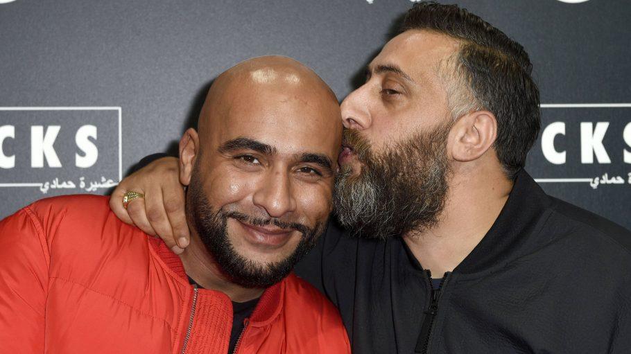 """Veysel Gelin und Kida Khodr Ramadan auf der Premie von """"4 Blocks"""""""