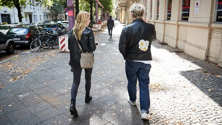 Beim Spaziergang durch Kreuzberg mit Tristan Brusch.