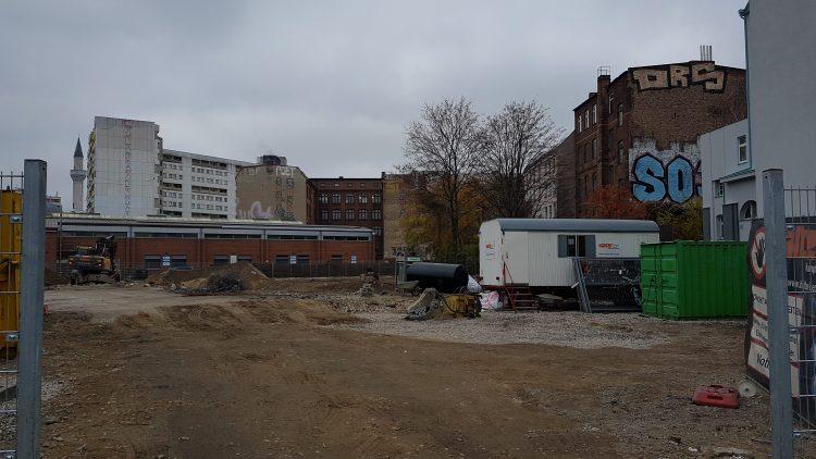 Baustelle in Kreuzberg