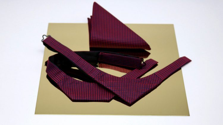 Neckwear Accessoire von BERLIN BOW, einem Label von DO THE DONT'S. Das modische It-Piece 2018 für Männer.