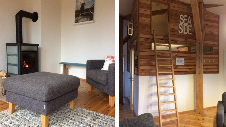 Möbel und Hochbett in Ferienwohnung