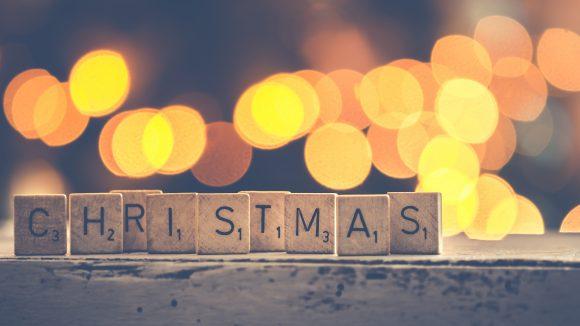 Christmas Buchstaben