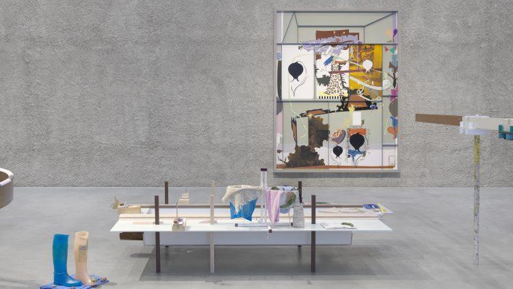 Installation von Helen Marten