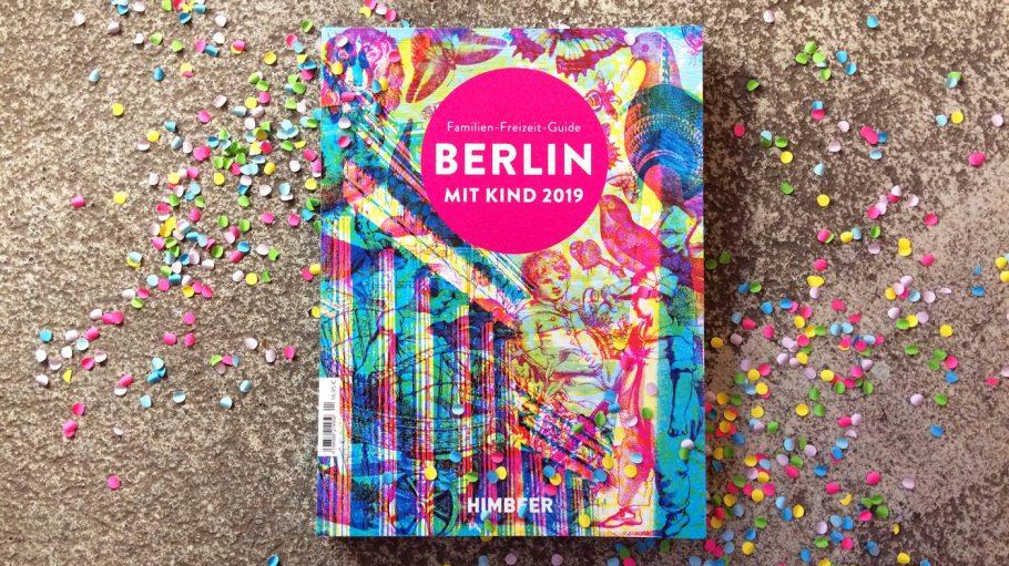 Magazin Berlin mit Kind 2019, mit Konfetti im Hintergrund