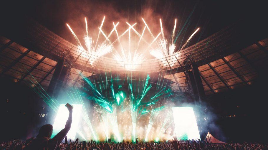 Die Bühne des Lollapalooza.