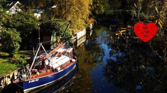 Klein Venedig in der Wilhelmstadt ist definitiv einen Ausflug wert.