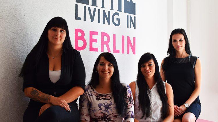 Living in Berlin immobilienmaklerbüro Team