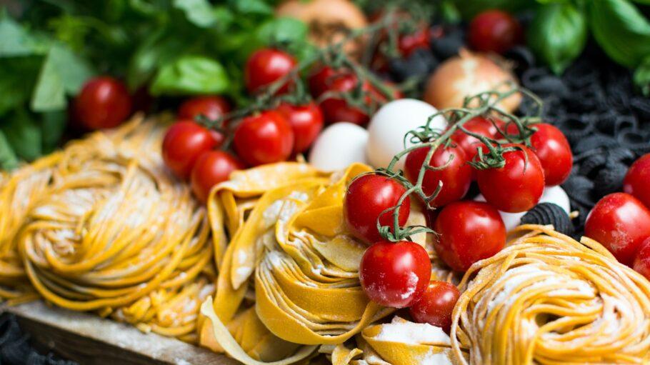 Italienisch Esssen Pasta