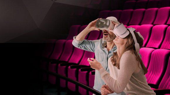 Ab durch die Brille! Das Virtual Reality Kino präsentiert von Magenta VR ist eine besondere Erfahrung - nicht nur für Filmfans!