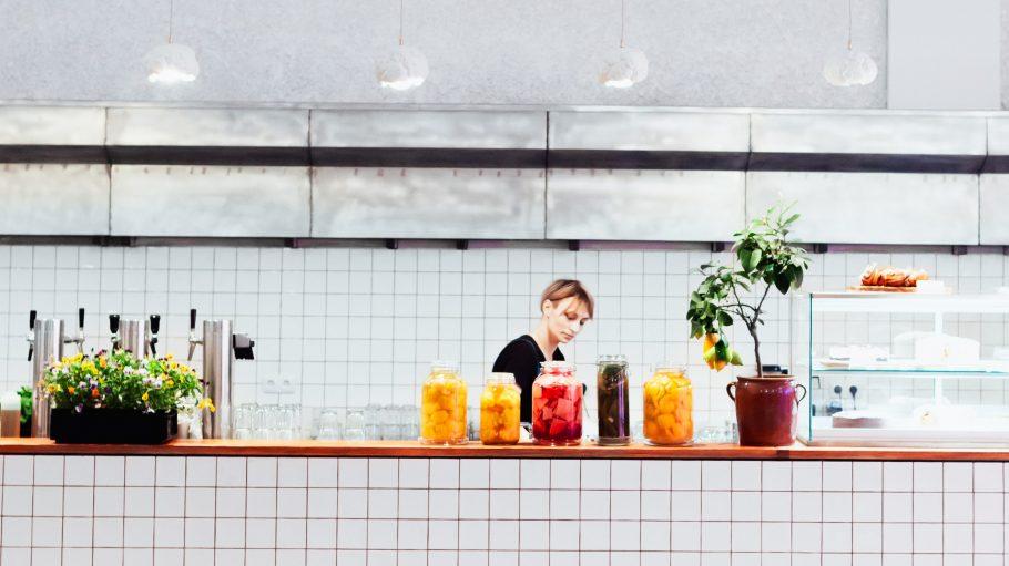 Das neue Museumscafé Beba im Martin Gropius Bau