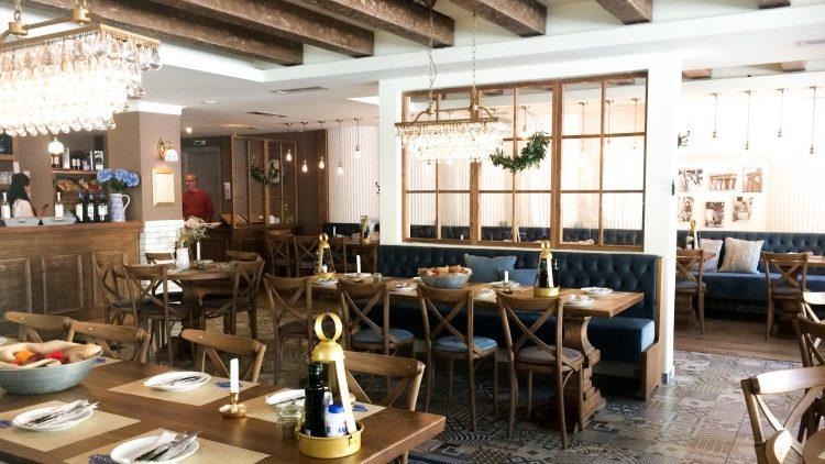 Inneneinrichtung griechisches Restaurant
