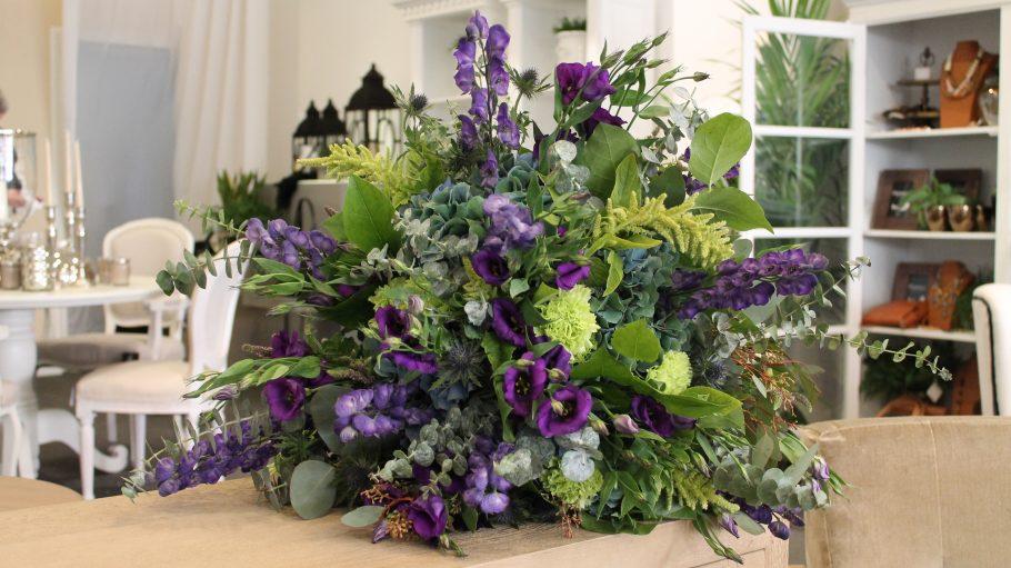 Blumenbouquet im Laden Florale Welten