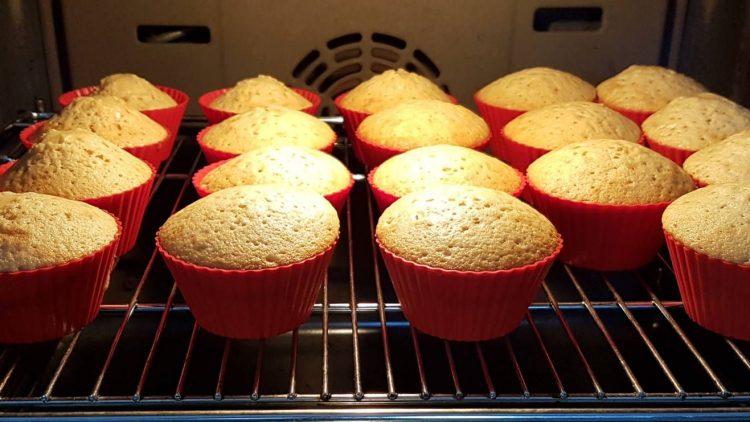 Cupcakes im Backofen