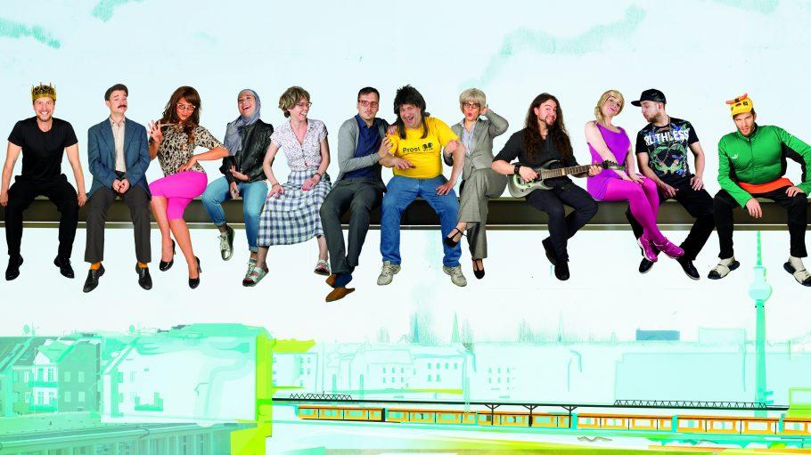 Das Ensemble des Prime Time Theaters