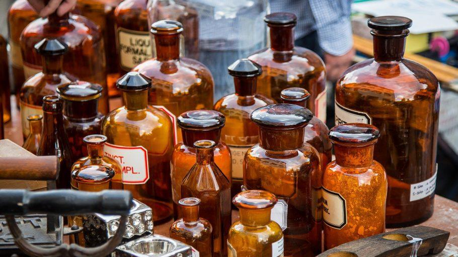 Flohmarkt Medizingefäße