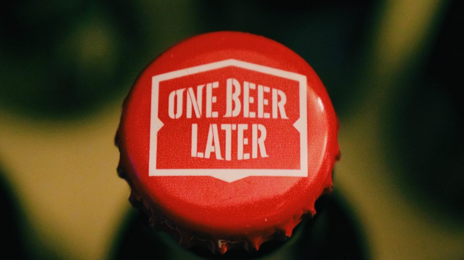 Kronkorken in Rot One Beer Later