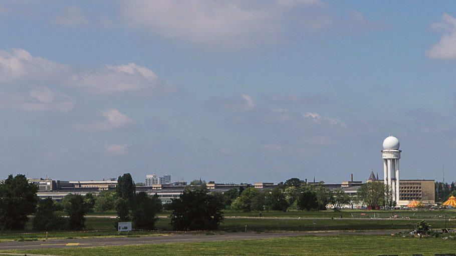 Das ehemalige Flugfeld in Tempelhof.