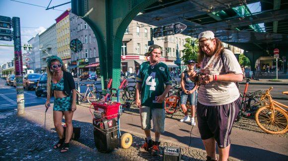 Fete de la Musique Straßenmusiker in Berlin