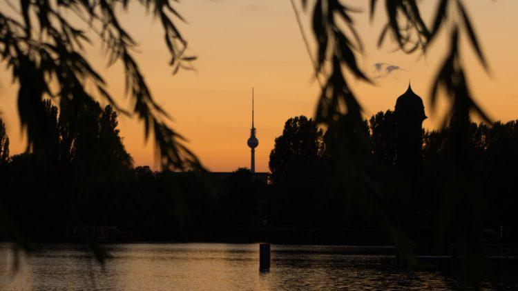 Sonnenuntergang in der Rummelsburger Bucht
