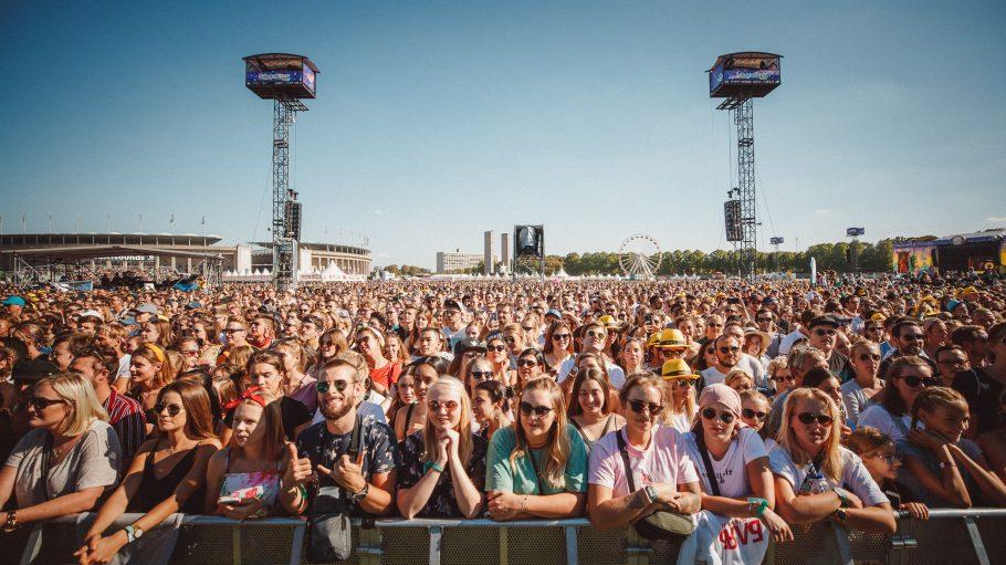 Besucher vom Festival Lollapalooza 2018