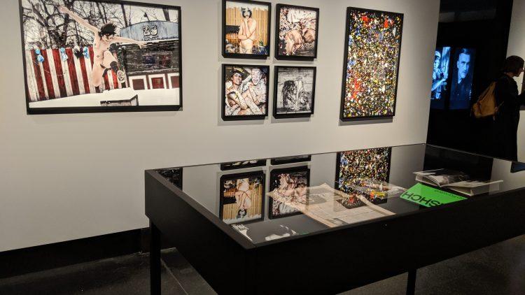 Fotos in der Ausstellung