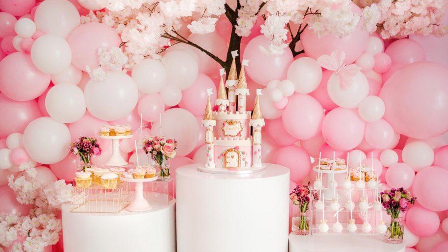 Ballon Fantasia rosa Ballons Geburtstag