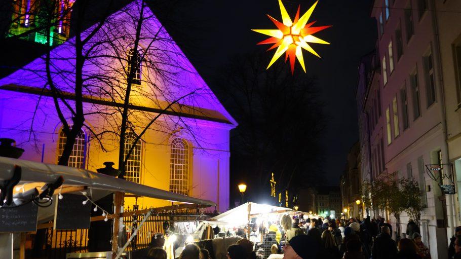Umwelt- und Weihnachtsmarkt Sophienstraße Berlin