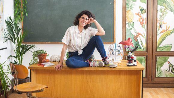Anarella ist die Mitgründerin und Ideengeberin der Plattform Sex School.