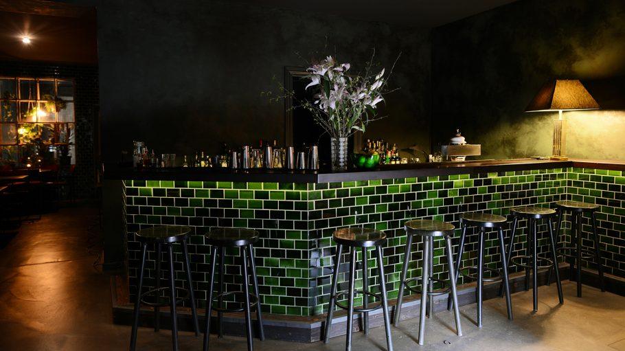 Basalt Bar Tresen Innenraum