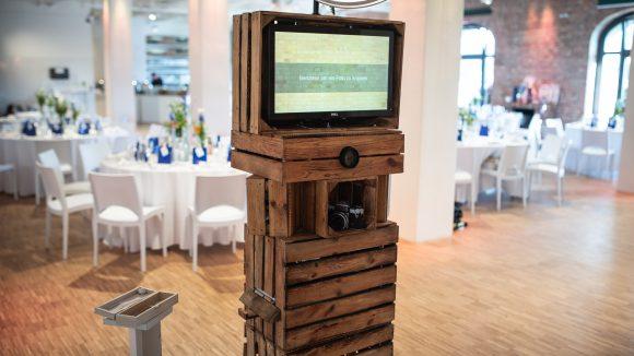 Fotobox Berlin Holzkästen
