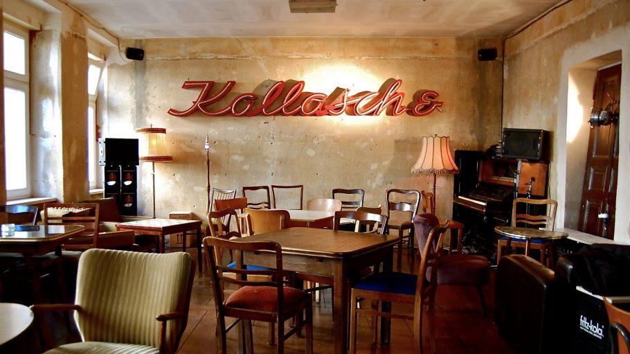 Interieur in der Bar Kallasch&
