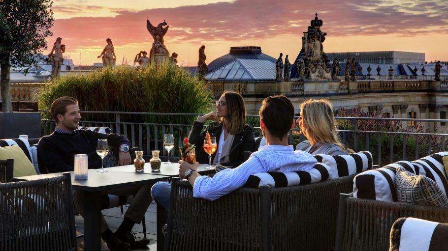 Rooftop Bar Dachterasse Hotel de Rome
