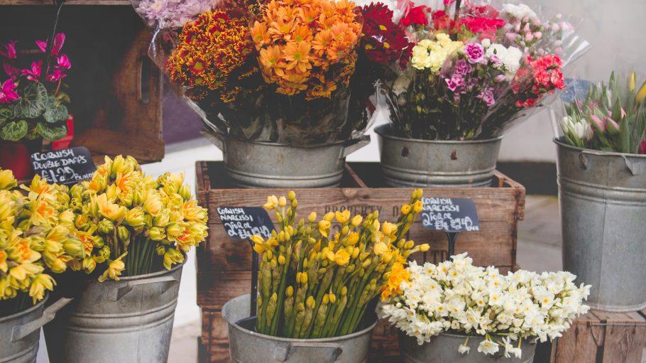 Blumen in einem Store