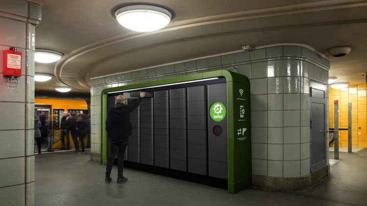 Diese Toolbots könnten bald in verschiedenen Berliner U-Bahnhöfen stehen.