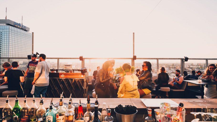 Dachterasse Weekend Club Rooftop Alexanderplatz