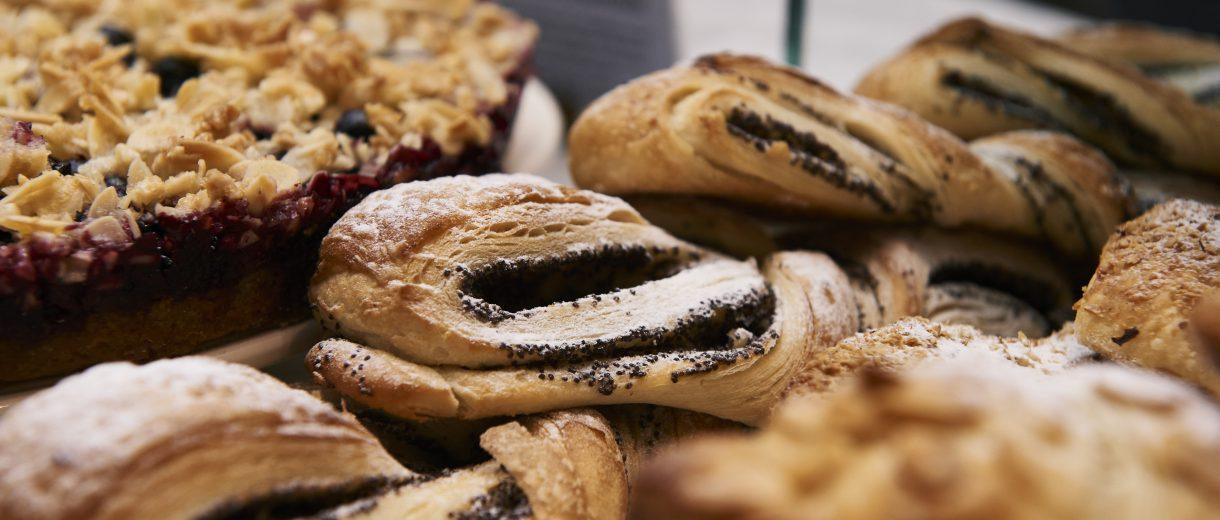 täglich frische Gebäcke aus dem Ofen der Bäckerei Lutum