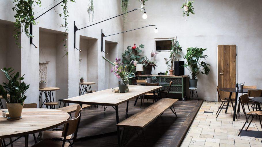 Cafe im Halleschen Haus in Kreuzberg