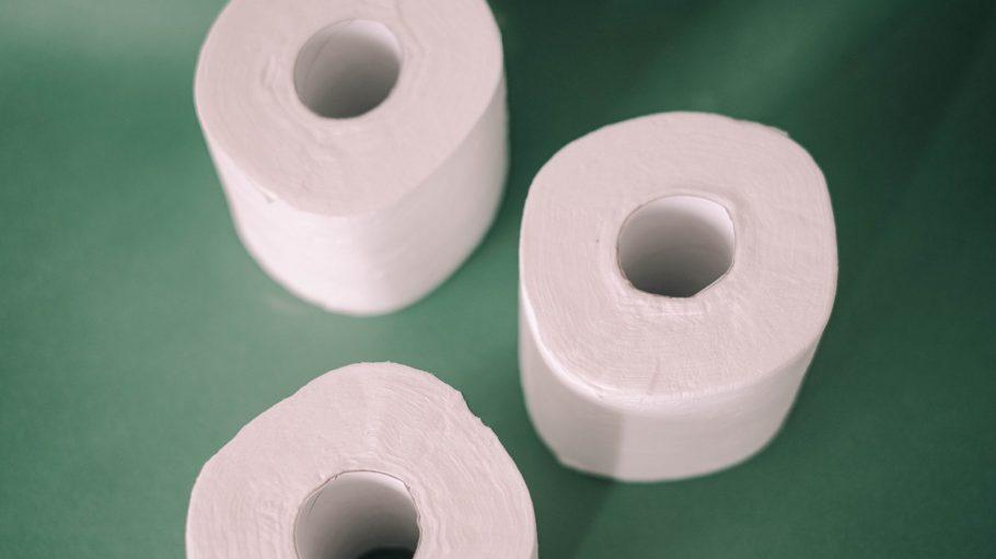 Toilettenpapier für die WG