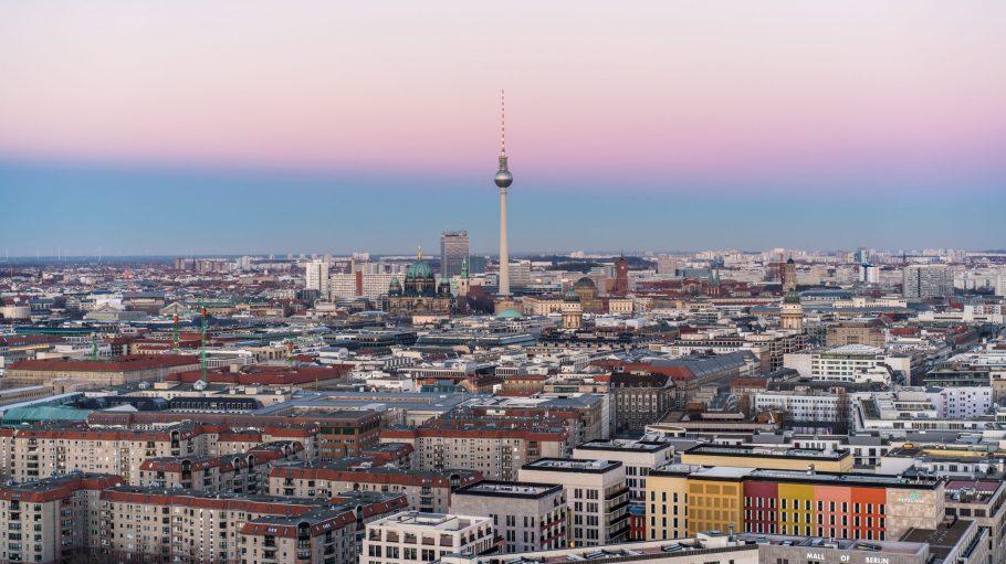 Skyline von Berlin mit Fernsehturm