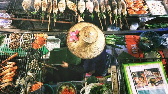 Thaiwiese, Asia BBQ, Streetfood im Preußenpark