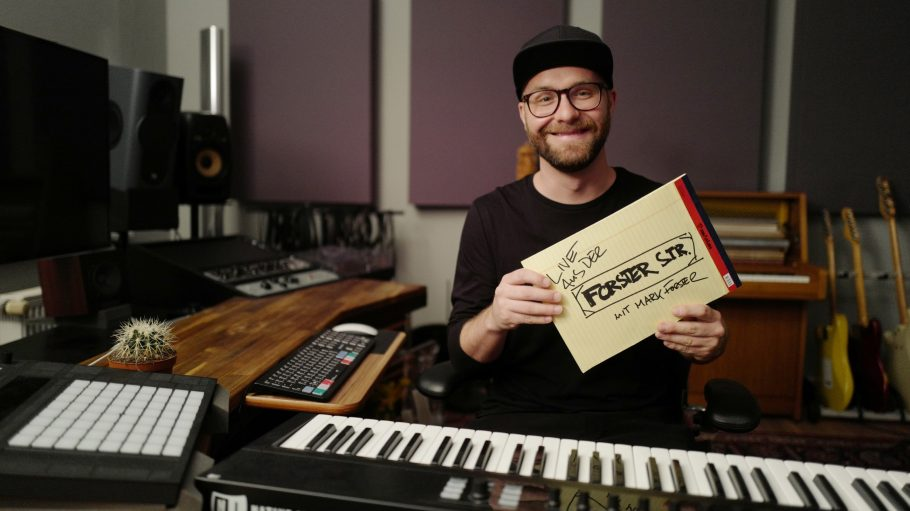 Mark Forster im Studio