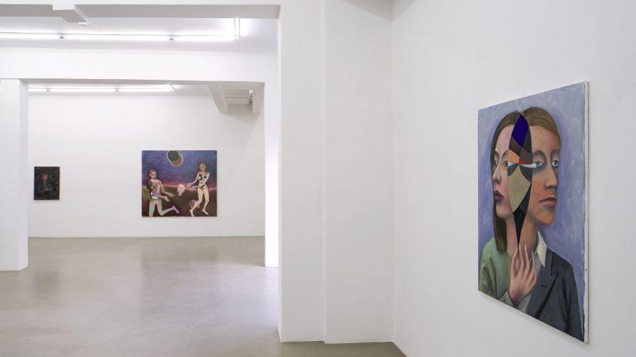 Bilder von Armin Boehm in der Galerie Meyer Riegger