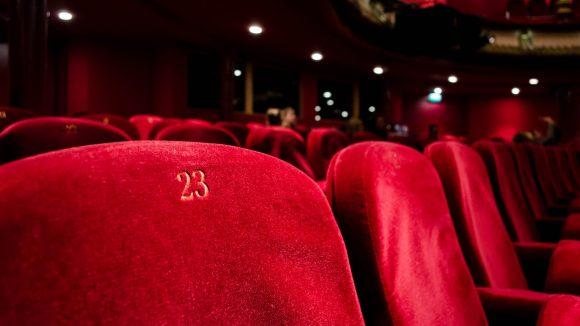 Leeres Kino in Berlin Corona