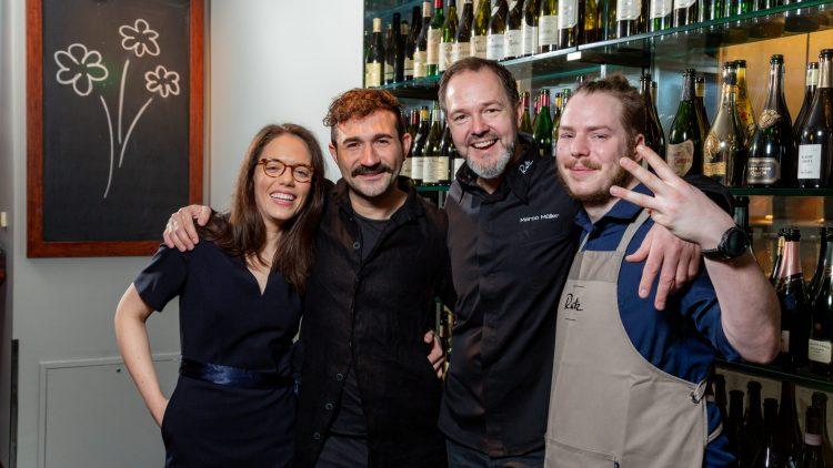 Rutz Berlin hat 3 Sterne im Guide Michelin