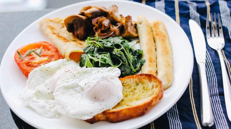 Englisches Frühstück im Hamlet