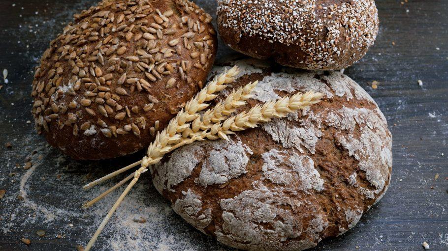 drei verschiedene Brote