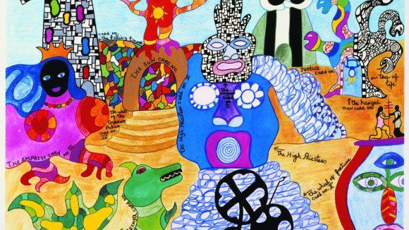"""Niki de Saint Phalle """"Tarot Garden"""" ausgestellt im MoMa"""