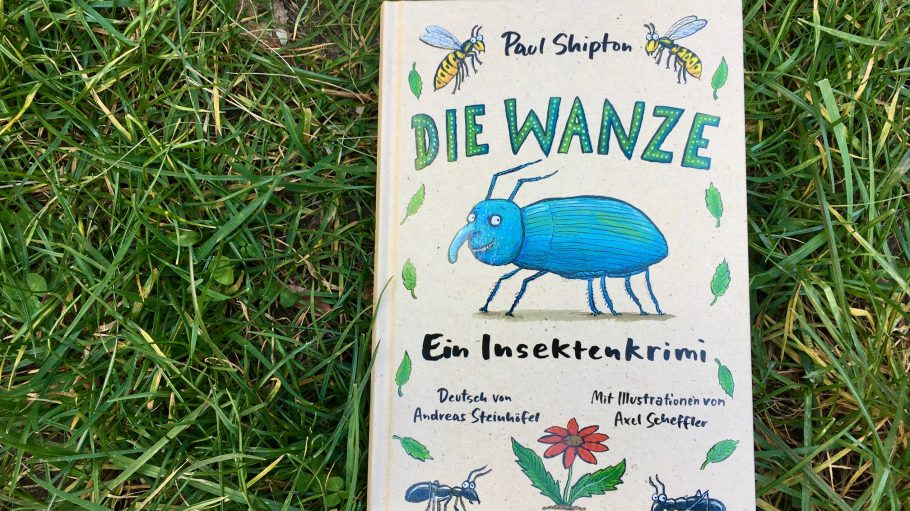 """Die Wanze"" - Kinderbuch, KJB, auf Wiese"