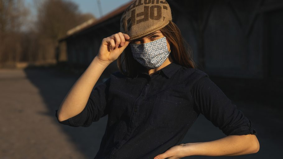 Schutzmaske von ReHats Berlin